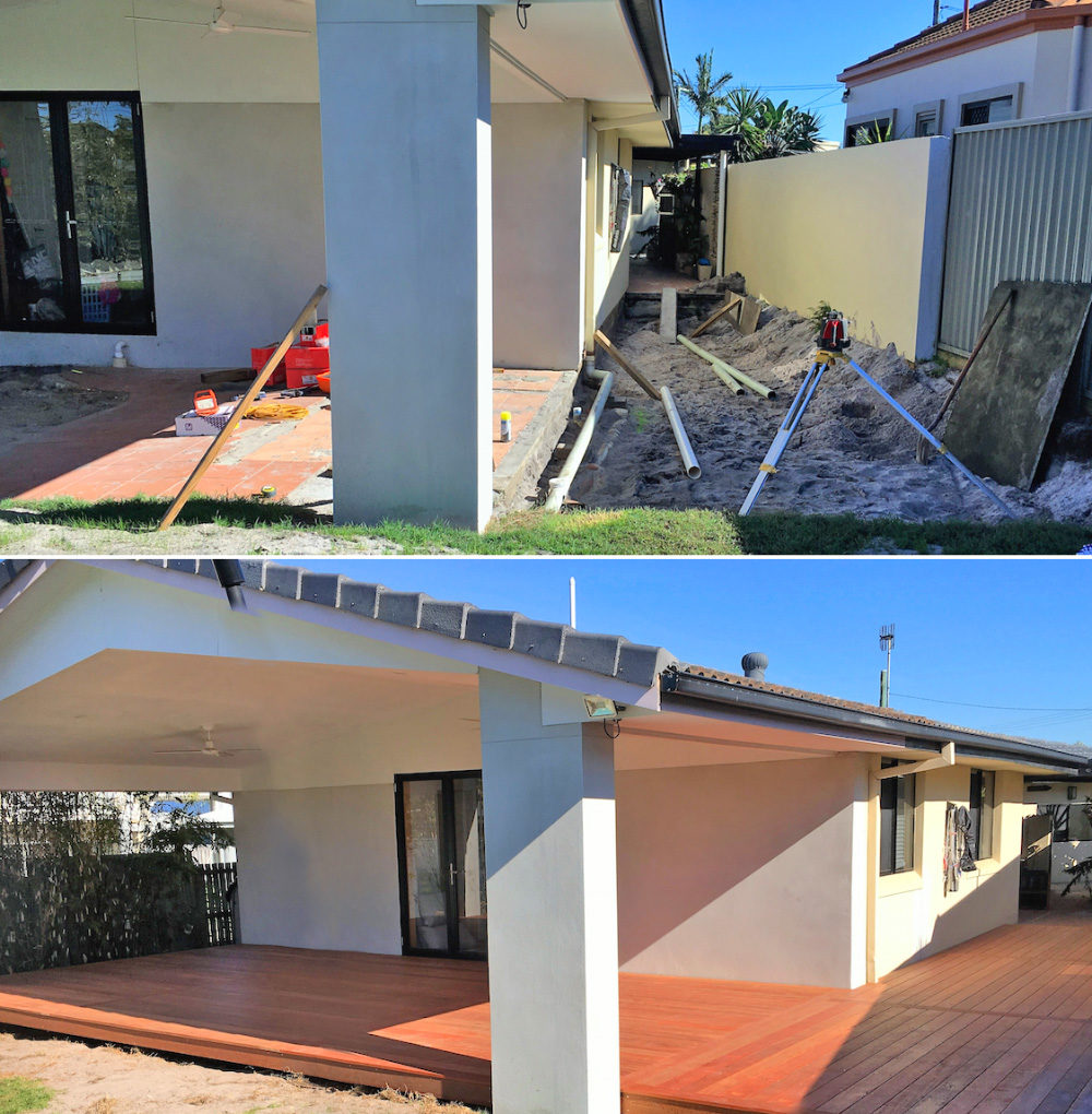 Residential Deck Build - Palm Beach Gold Coast