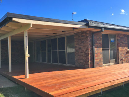 Residential Deck Build - Ormeau Northern Gold Coast