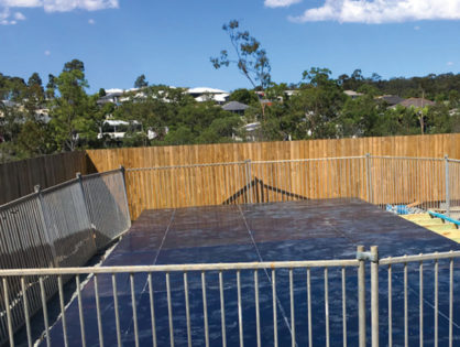 Pool Void Construction Cover - Upper Kedron, Brisbane
